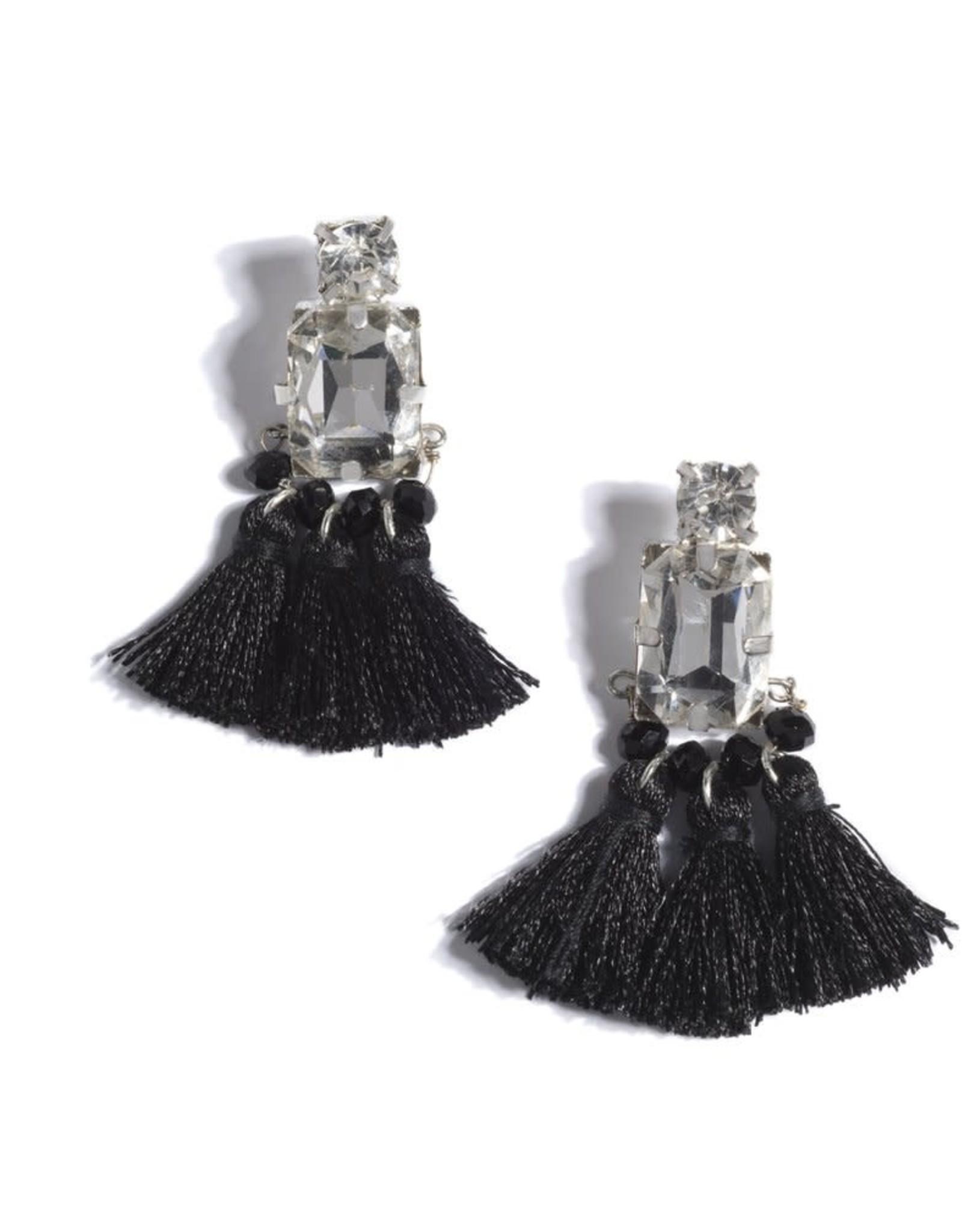 Gems & Tassels Earrings