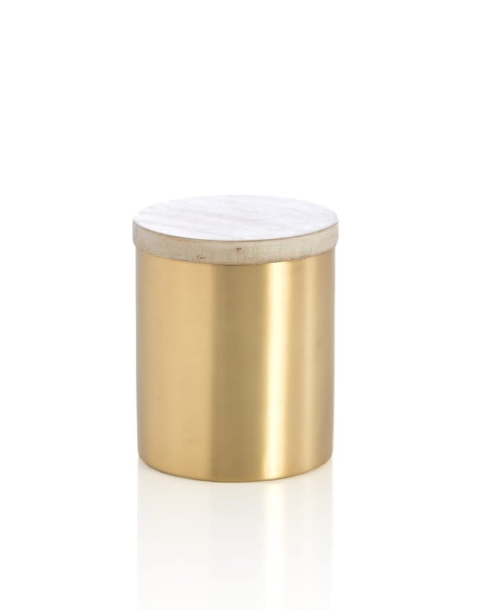 Gold Stainless Steel Container