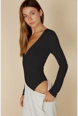 Surplice LS Bodysuit