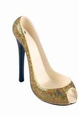 Stiletto Wine Holder - Gold Glitter