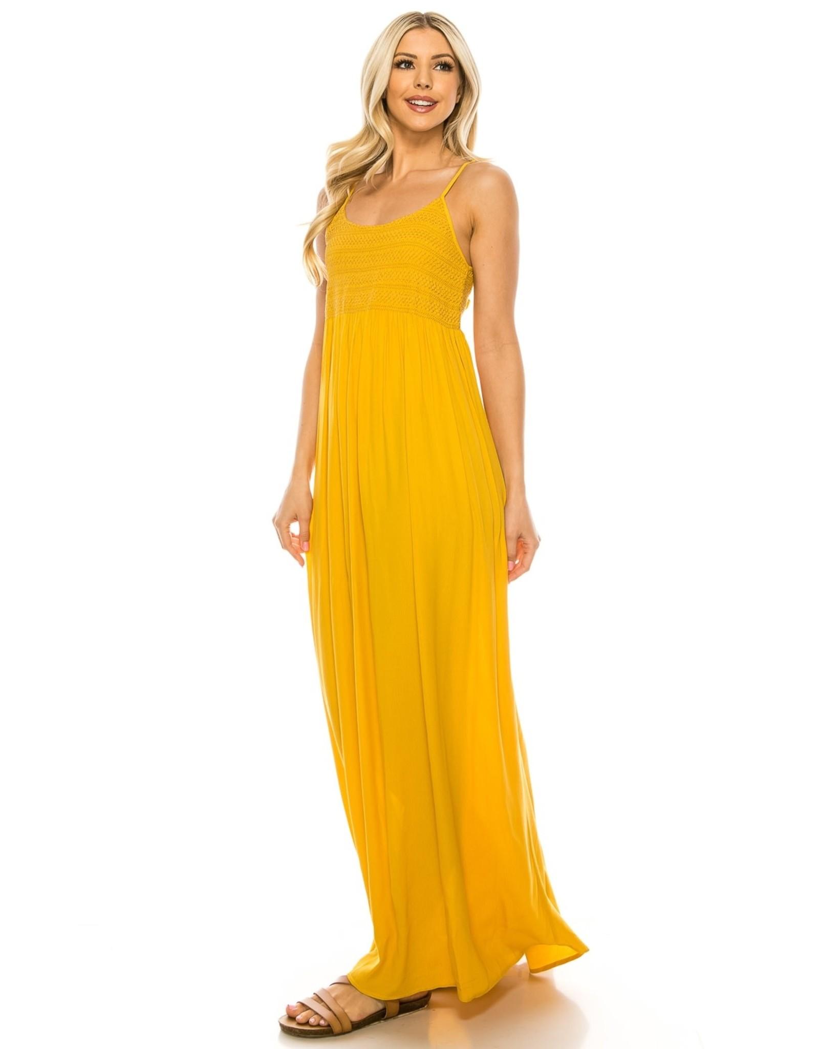 Mustard Maxi Dress