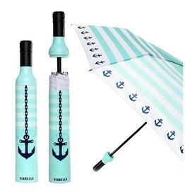 Wine Bottle Umbrella - Seaside