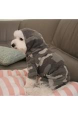 Camouflage Hooded Pet Bodysuit