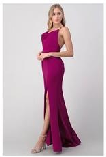 Drape Front Gown