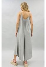 Soft Knit Jumpsuit Grey