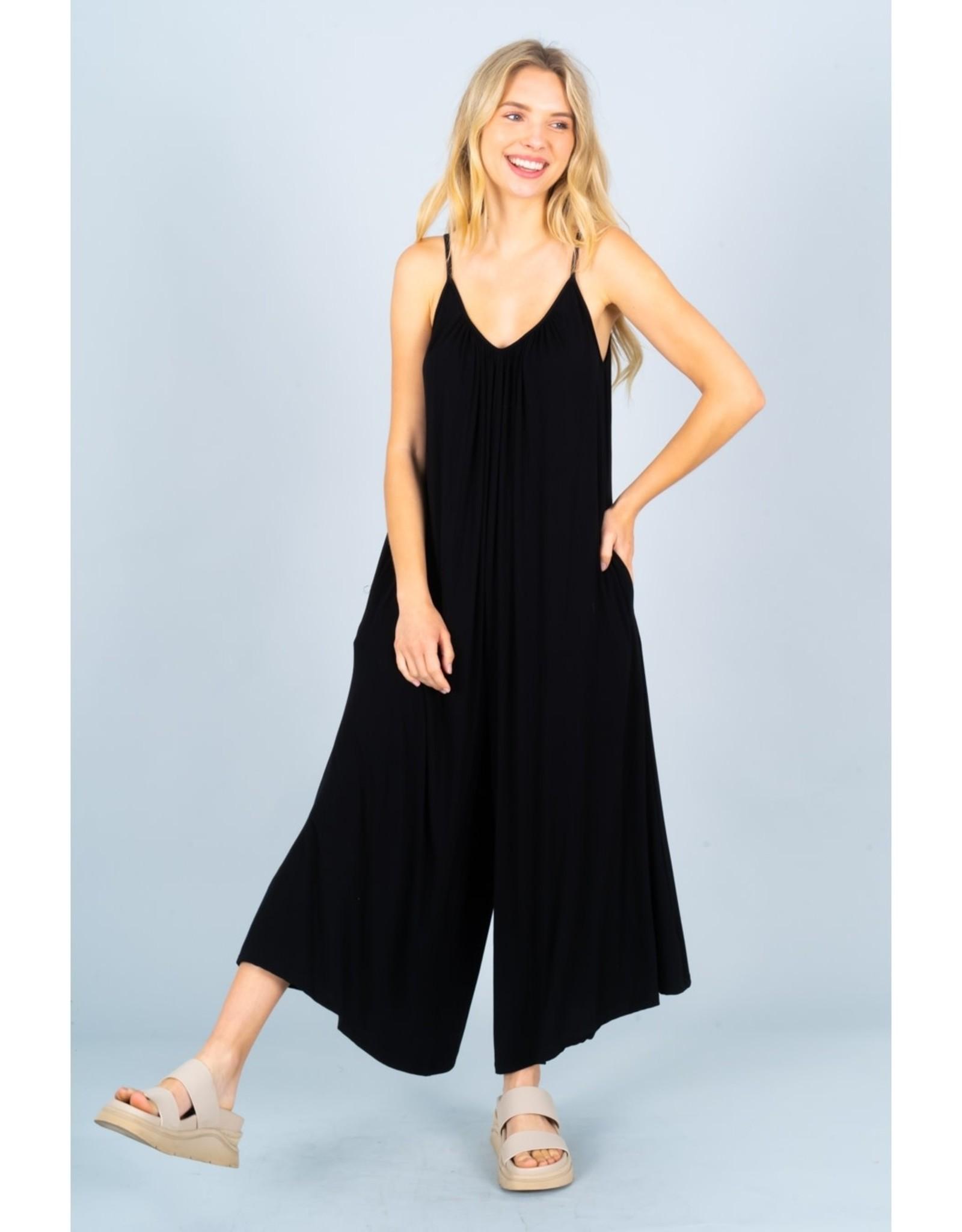 Soft Knit Jumpsuit PLUS