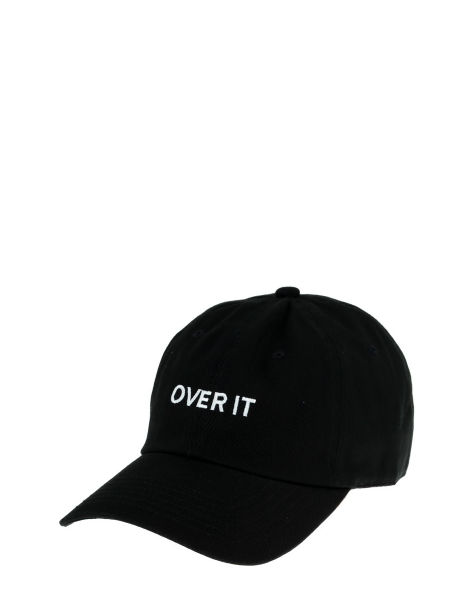 Over It Embroidery Cotton Cap