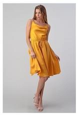 Marigold Scoop Neck Dress