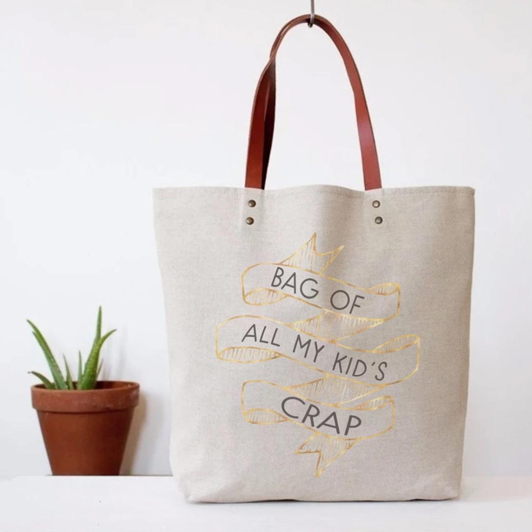 Kid's Crap Tote