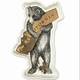 Bear Hug Metallic Tray