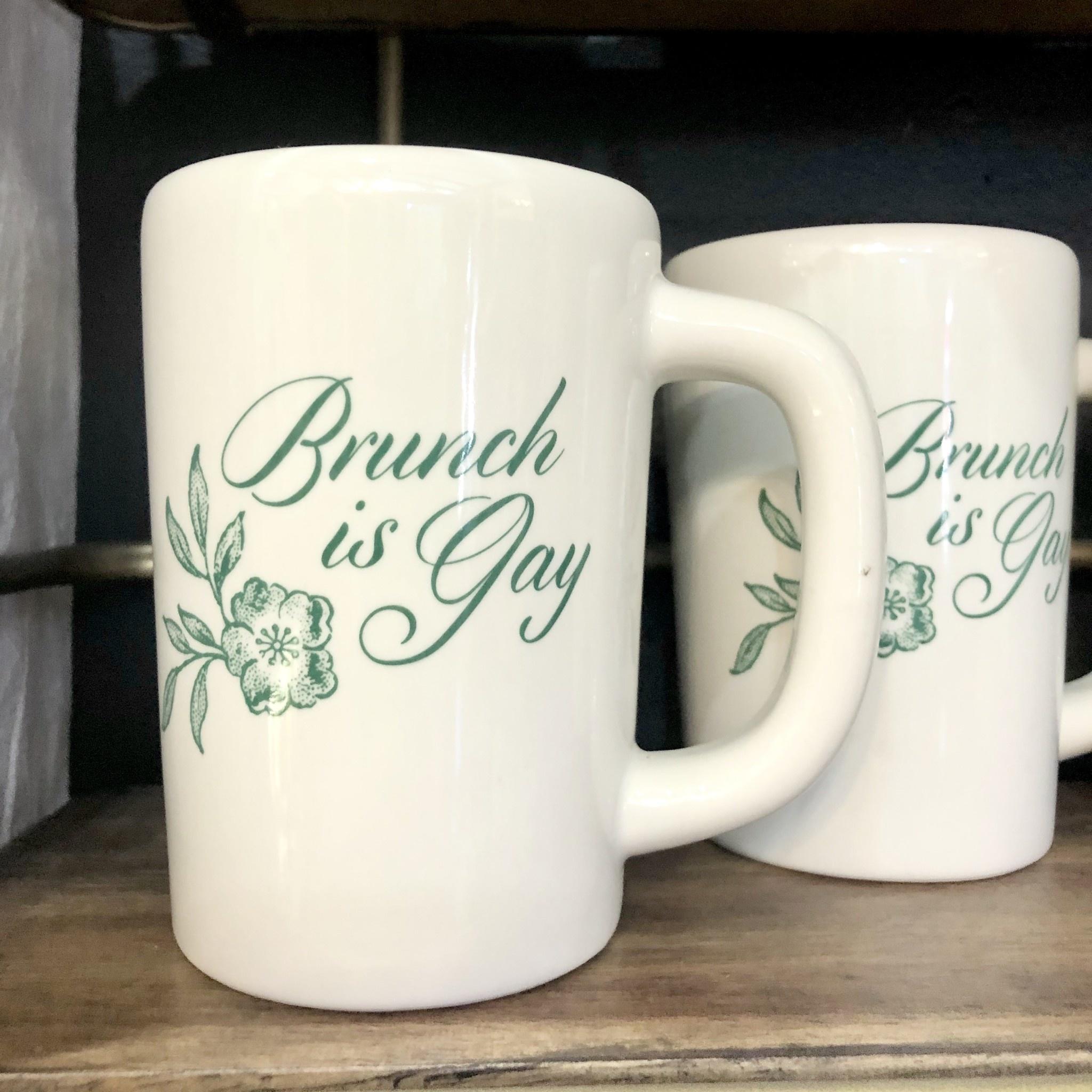 Brunch Is Gay Mug