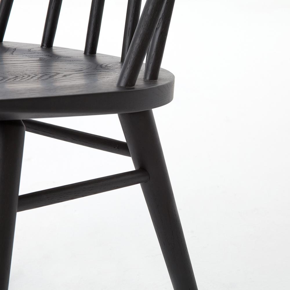 Denton Chair - Black Oak