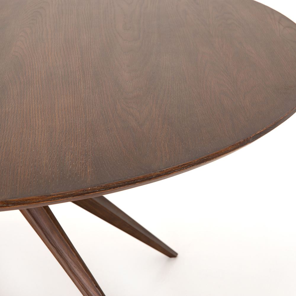 Calabar Round Dining Table - acorn