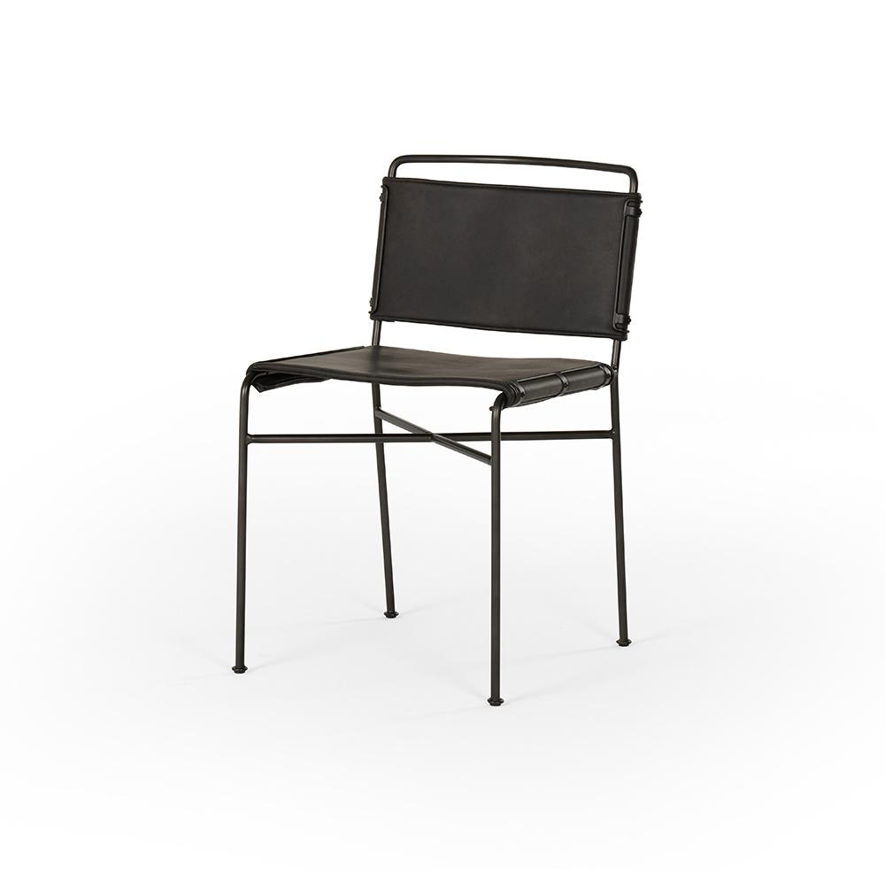 Boston Dining Chair - Distressed Black
