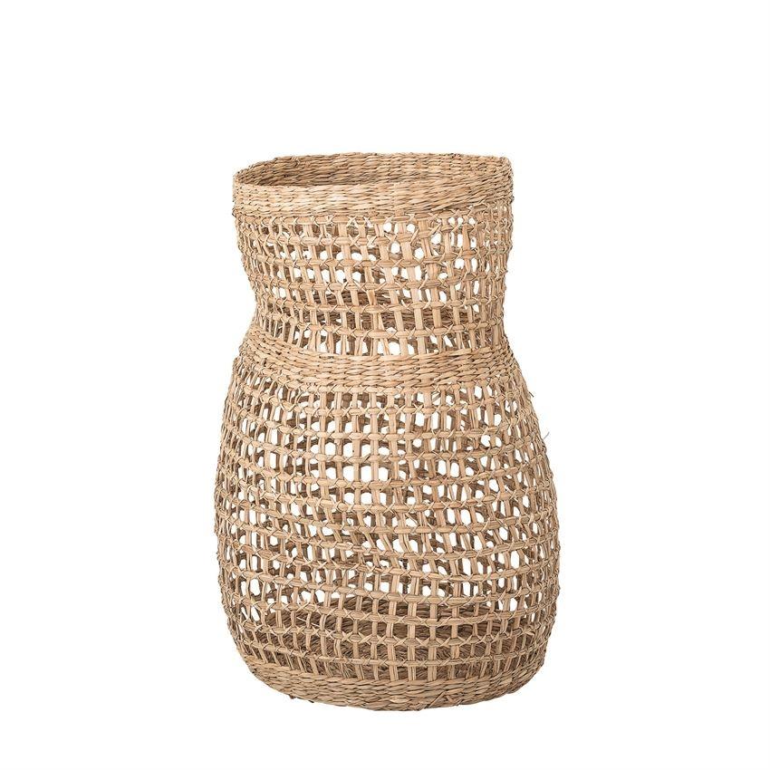 "Decorative Seagrass 20"" High Basket"