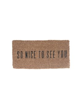 Nice To See You Doormat