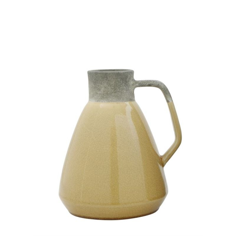 Terra-cotta Vase / Pitcher - Mustard