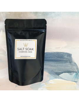 Salt Soak Travel Charcoal Sage