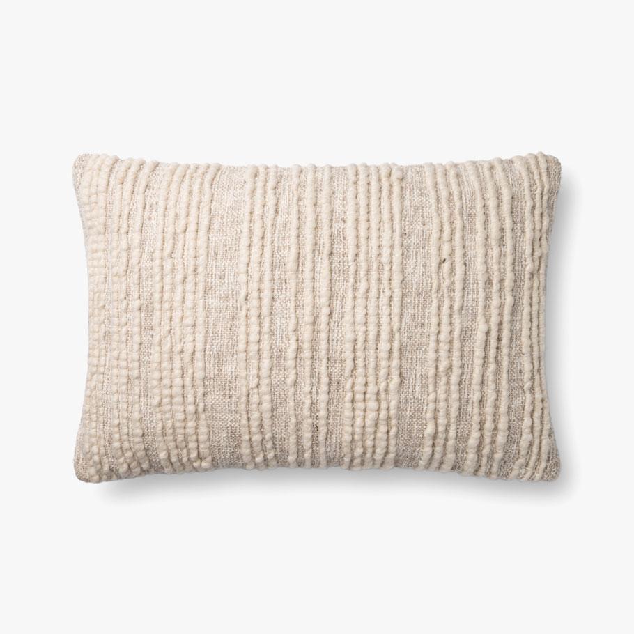 """Natural Pillow - 16"""" x 22"""""""