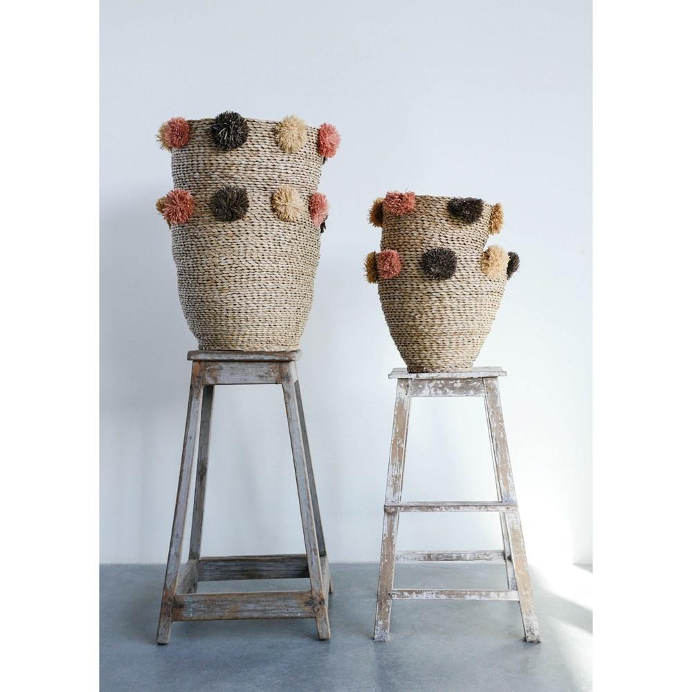 Pom Basket Set of 2