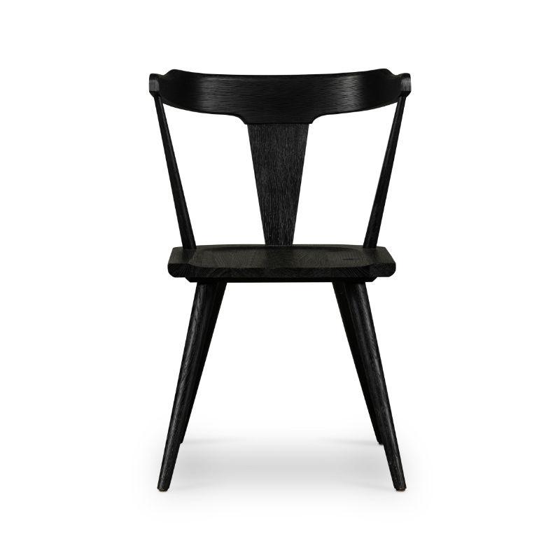 Leslie Dining Chair - Black Oak