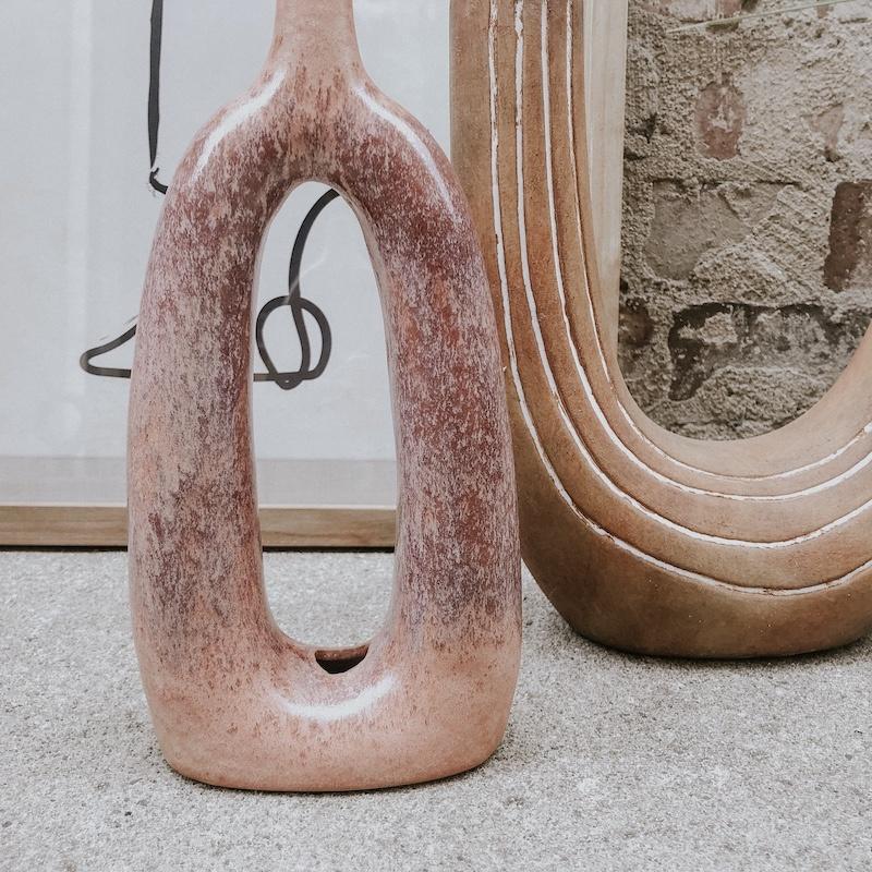 Persimmon Pink Vase