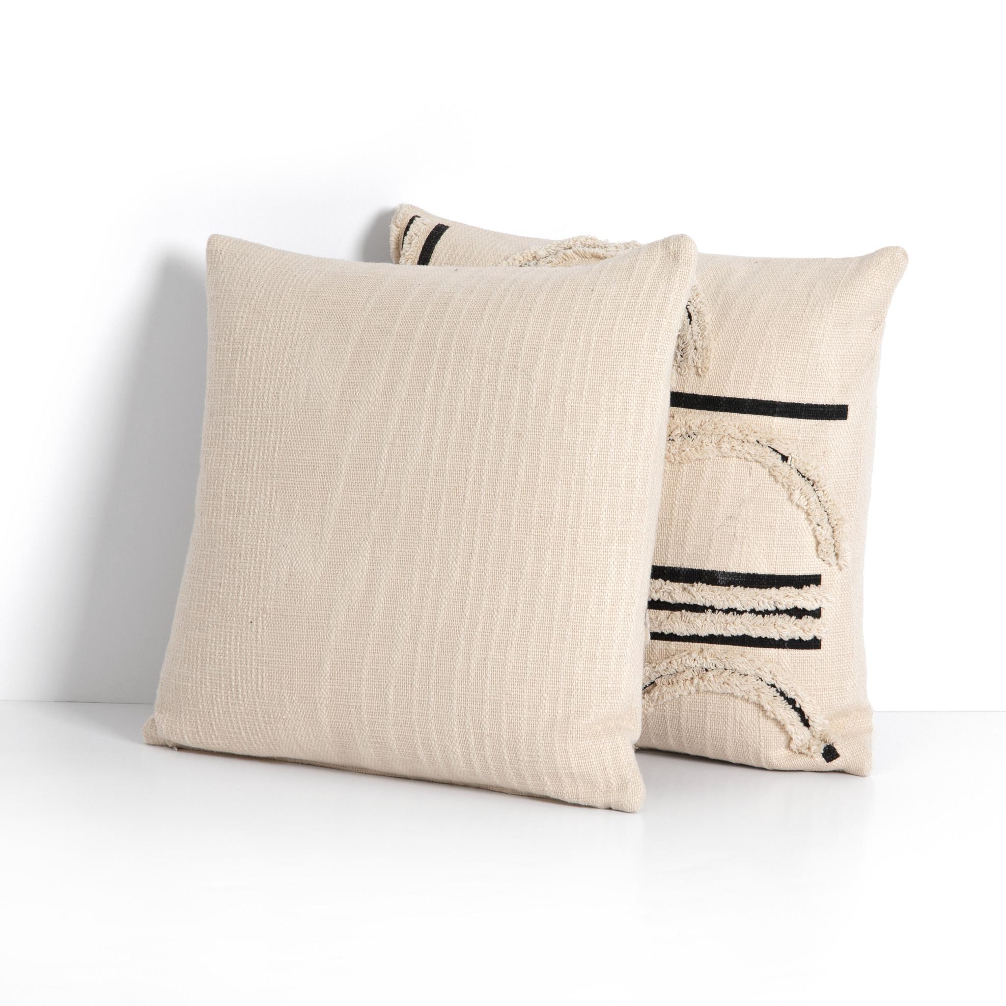 """Horizons Pillow, Set of 2, 20"""""""
