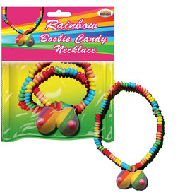 HOTT PRODUCTS Rainbow Boobie Candy Necklace