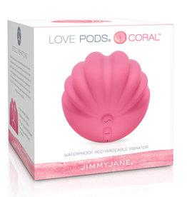 JIMMYJANE Jimmyjane Love Pods Coral Pink