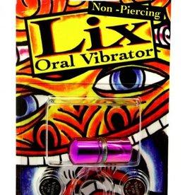 JJK INDUSTRIES Lix Non Piercing Oral Vibrator Purple Amethyst