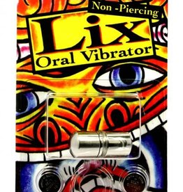 JJK INDUSTRIES Lix Non Piercing Oral Vibrator Silver