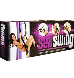 XR. LLC Trinity Sex Swing (Black)