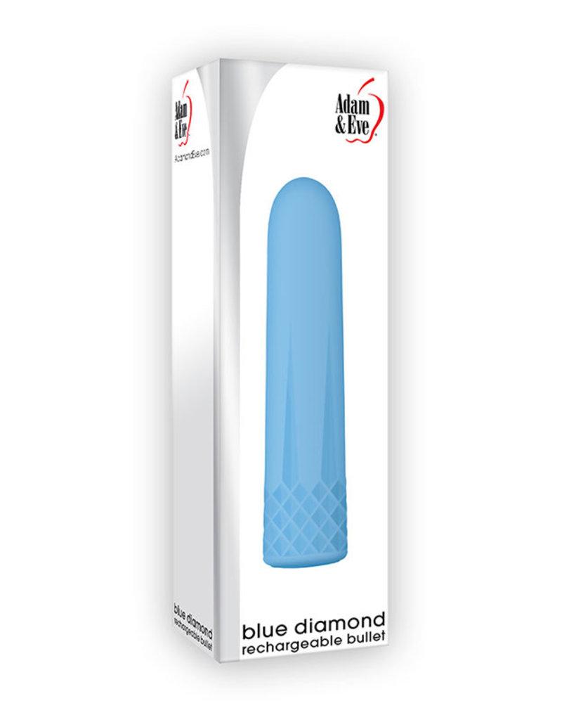 ADAM & EVE A&E Blue Diamond Rechargeable