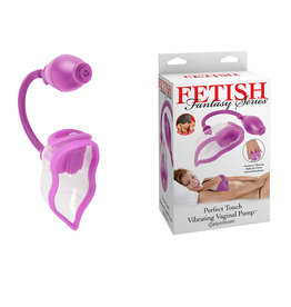 PIPEDREAM Fetish Fantasy Perfect Touch Vibrating Pussy Pump