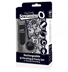 SCREAMING O My Secret Remote Control Vibrating Panty O/S
