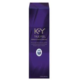 K-Y BRAND K-Y True Feel Premium Intimate Silicone Gel Lubricant
