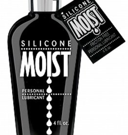 PIPEDREAM Moist Silicone Lubricant - 4 oz