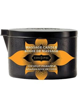 KAMA SUTRA Kama Sutra Ignite Massage Candle-Coconut Pineapple6oz