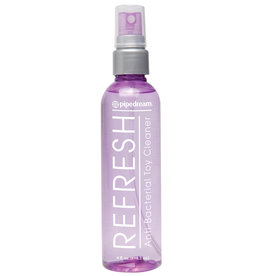PIPEDREAM Refresh Antibacterial Toy Cleaner 4oz Spray