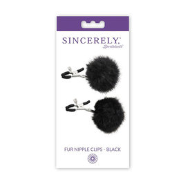 CALEXOTIC Sincerely, SS Fur Nipple Clips