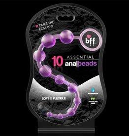 SI NOVELTIES Assential Anal Beads 10 Purple