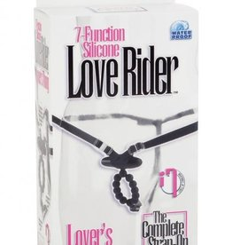 7 Function Love Rider Silicone Vibrating G String Thong Waterproof