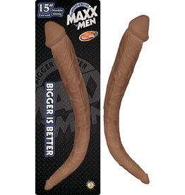 Maxx Men 15in Crystal Curved Double Dong
