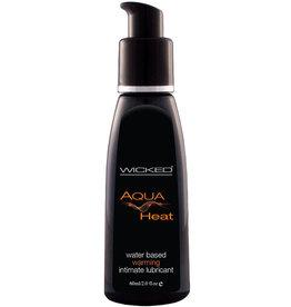 Wicked Aqua Heat Waterbased Warming Sensation Lubricant