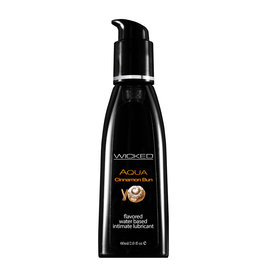 Wicked Aqua Cinnamon Bun Waterbased Flavored Lubricant