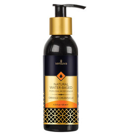 Sensuva Natural Water-Based Personal Moisturizer-Orange Creamsicle 4oz