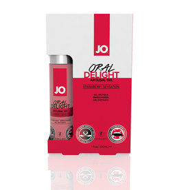 JO Oral Delight - Strawberry - 1 fl oz / 30 ml