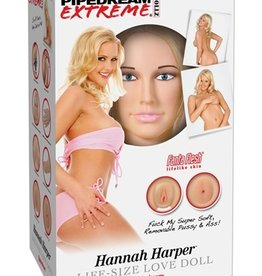 Pipedream Extreme Dollz Hannah Harper Life Size Love Doll