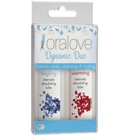 Oral Love Dynamic Duo - Warming and Tingling