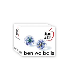 Adam and Eve Glass Ben Wa Balls